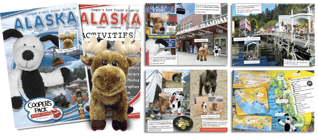 Cooper's Pack Travel Guides - Alaska Book