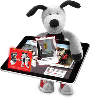 Cooper's Pack Interactive Children's Travel Guides - London - artwork