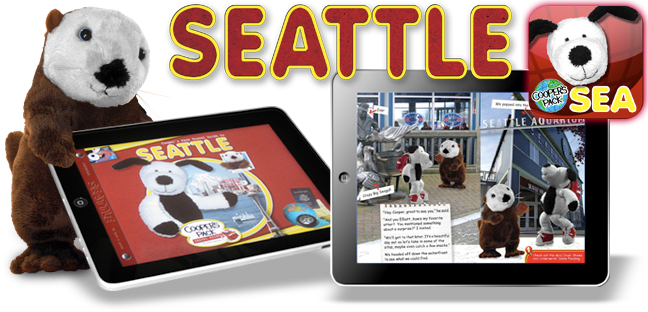 Cooper's Pack Interactive Children's Travel Guide to Seattle