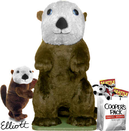 Coopers Pack Travel Guides - Seattle- super Elliott the Otter