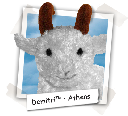 Demitri the Goat - Athens - Cooper's Pack