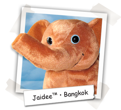 Jaidee the Elephant - Bangkok - Cooper's Pack