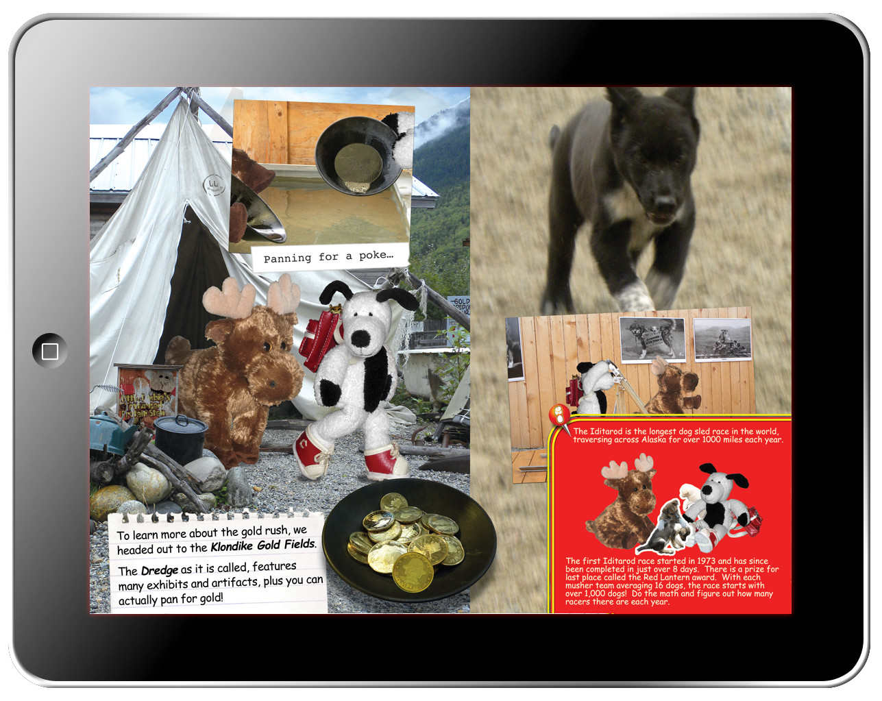 Cooper's Pack Interactive Children's Travel Guides - Alaska