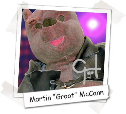 "Cooper's Pack Art Director & Author - Martin ""Groot"" McCann"