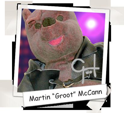 "Cooper's Pack Art Director & Author - Martin ""Groot"" McCann"
