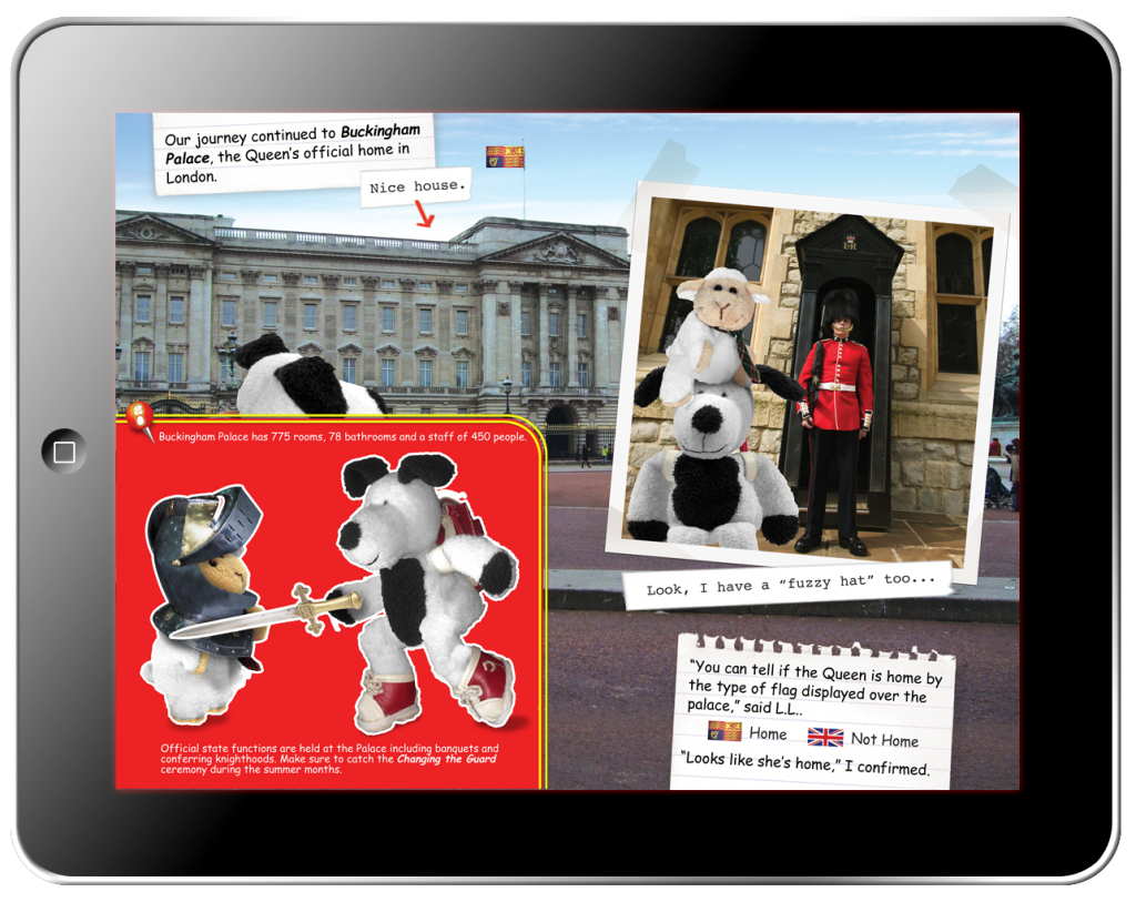 Cooper's Pack Interactive Children's Travel Guide of London - Fun Facts