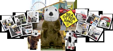 World's Largest Stuffed Otter, Elliott, Makes Film Debut on Seattle Waterfront