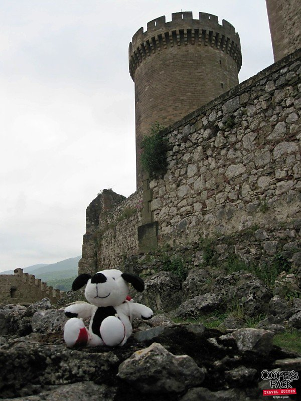 Cooper Was Here - Foix Chateau, France