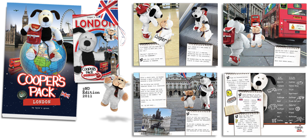 Cooper's Pack Travel Guides - London Book