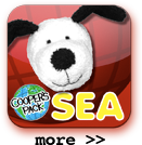 Cooper's Pack Interactive Children's Travel Guides - Seattle