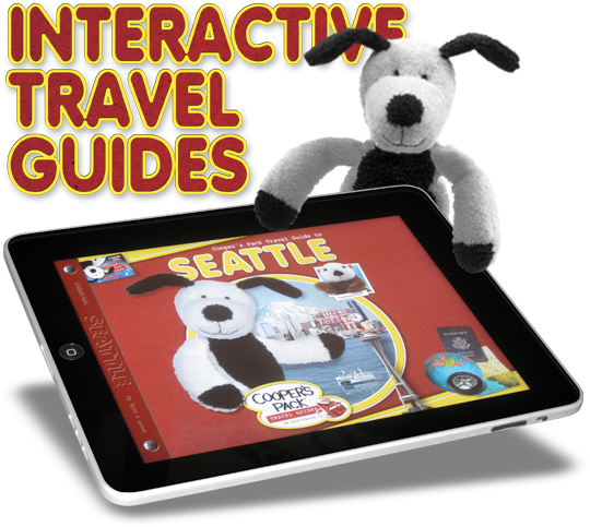 Cooper's Pack Interactive Children's Travel Guides