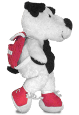 Cooper's Pack Plush Toy with Removable Backpack