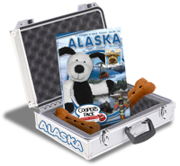 Coopers Pack Travel Guides playground buried bones Alaska
