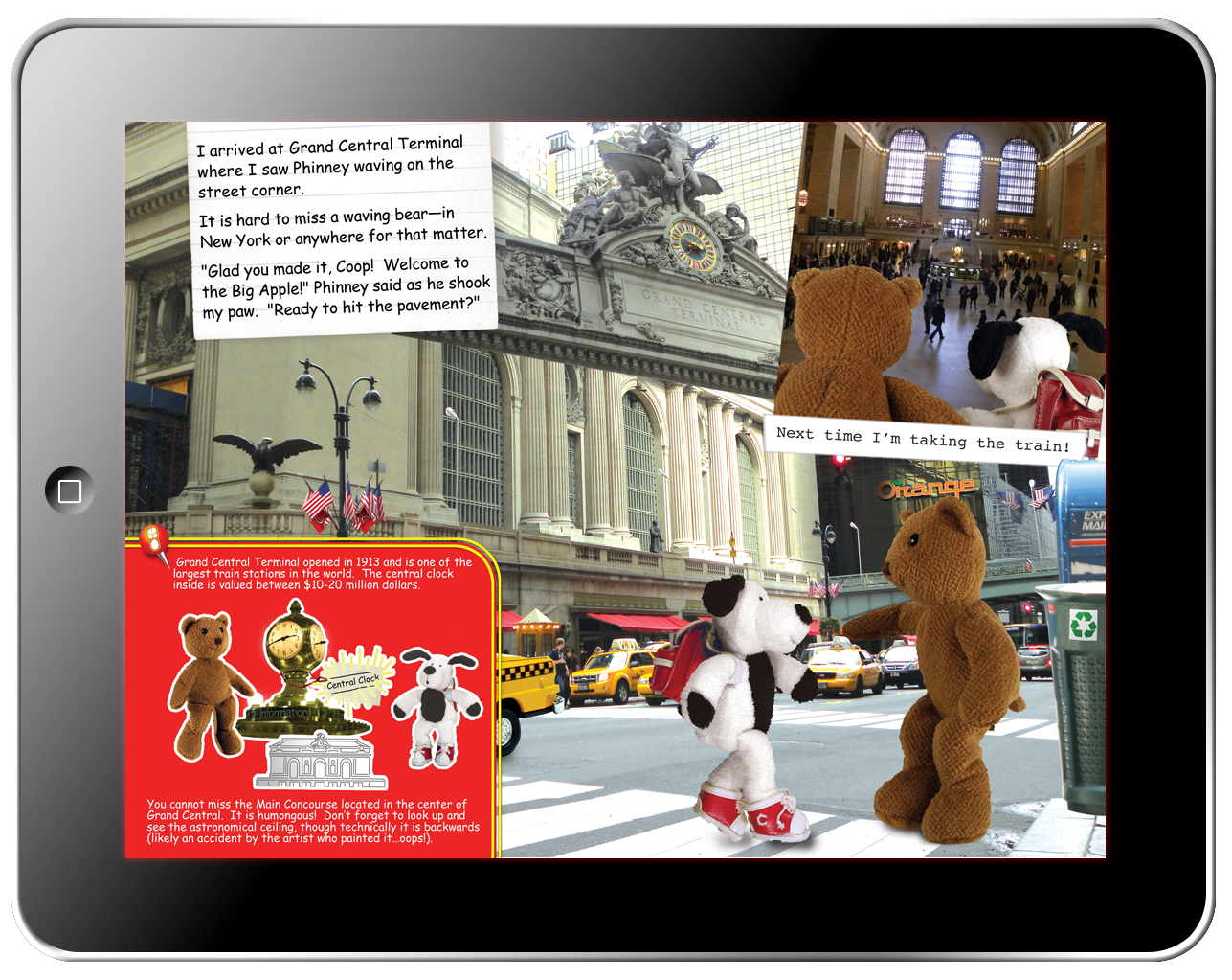 Cooper's Pack Interactive Children's Travel Guides - New York City - Fun Fact