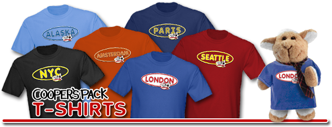 Cooper's Pack T-Shirts