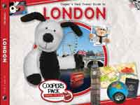 Cooper's Pack Interactive Travel Guide for Kids - London